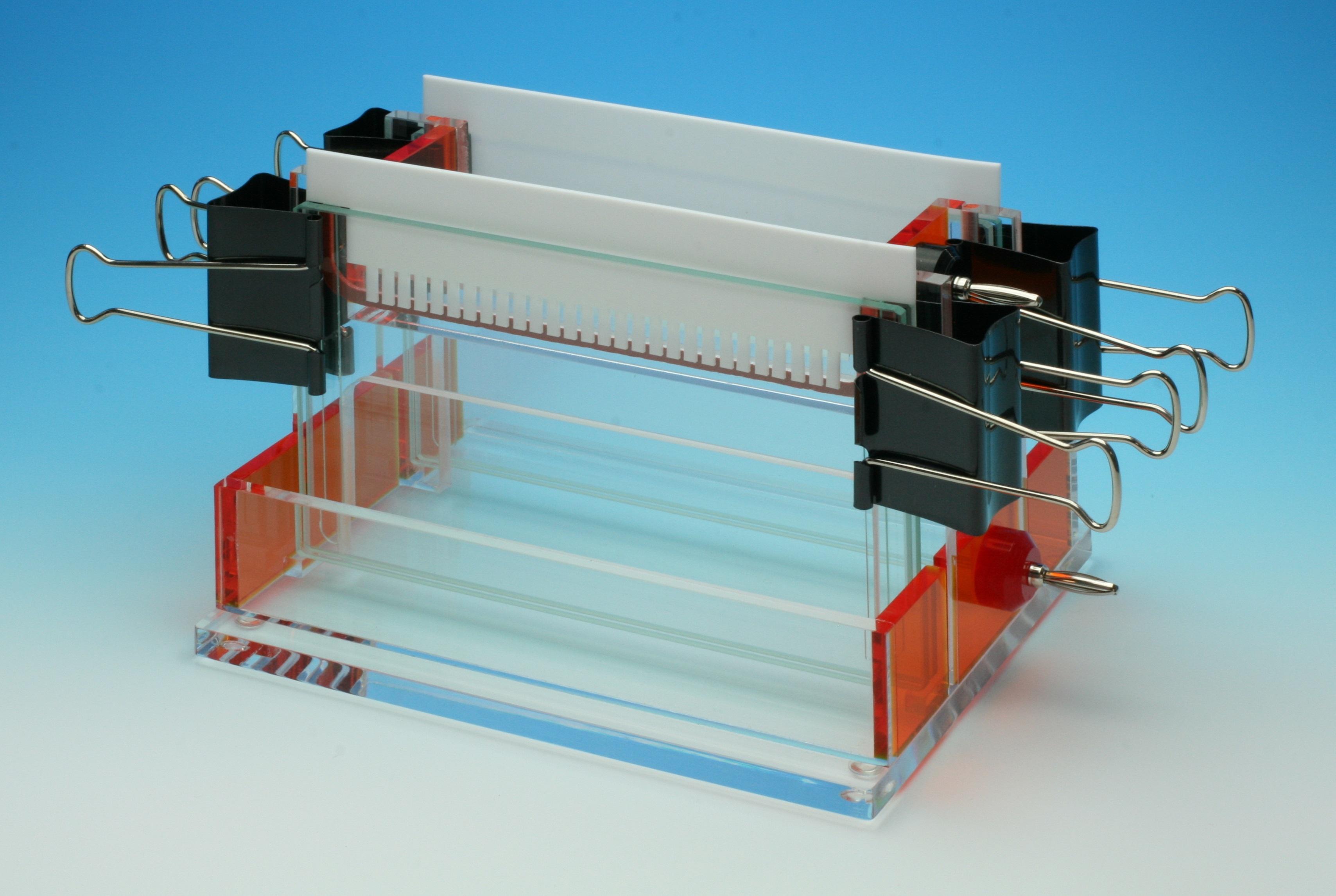 ワイドスラブ電気泳動装置 Double-160D