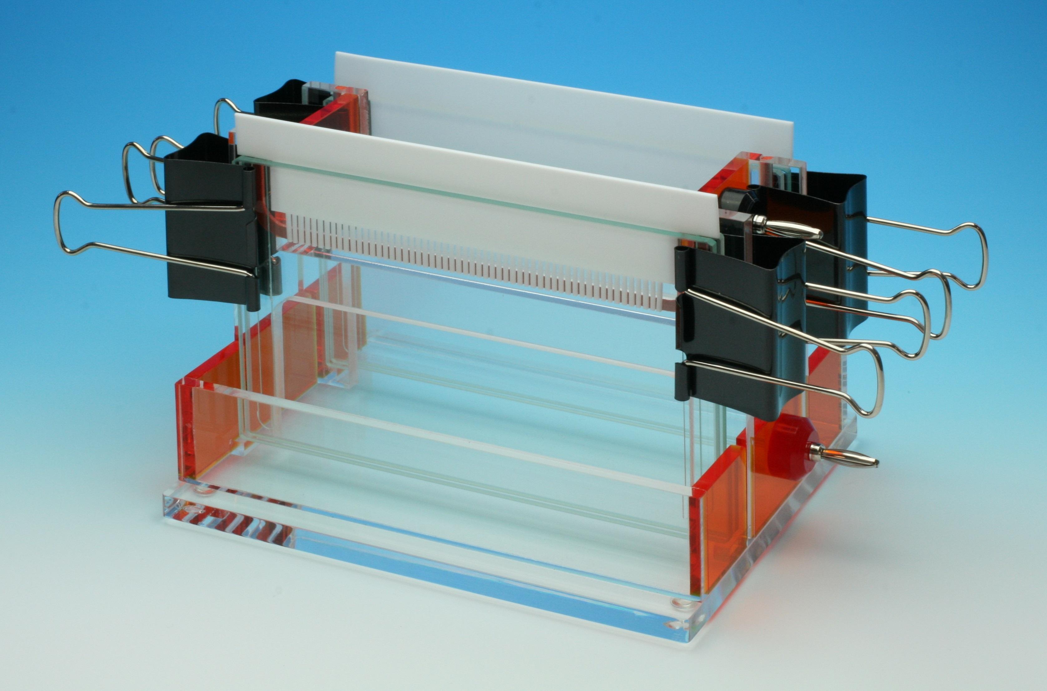 マイクロワイドスラブ電気泳動装置 Double-160MD