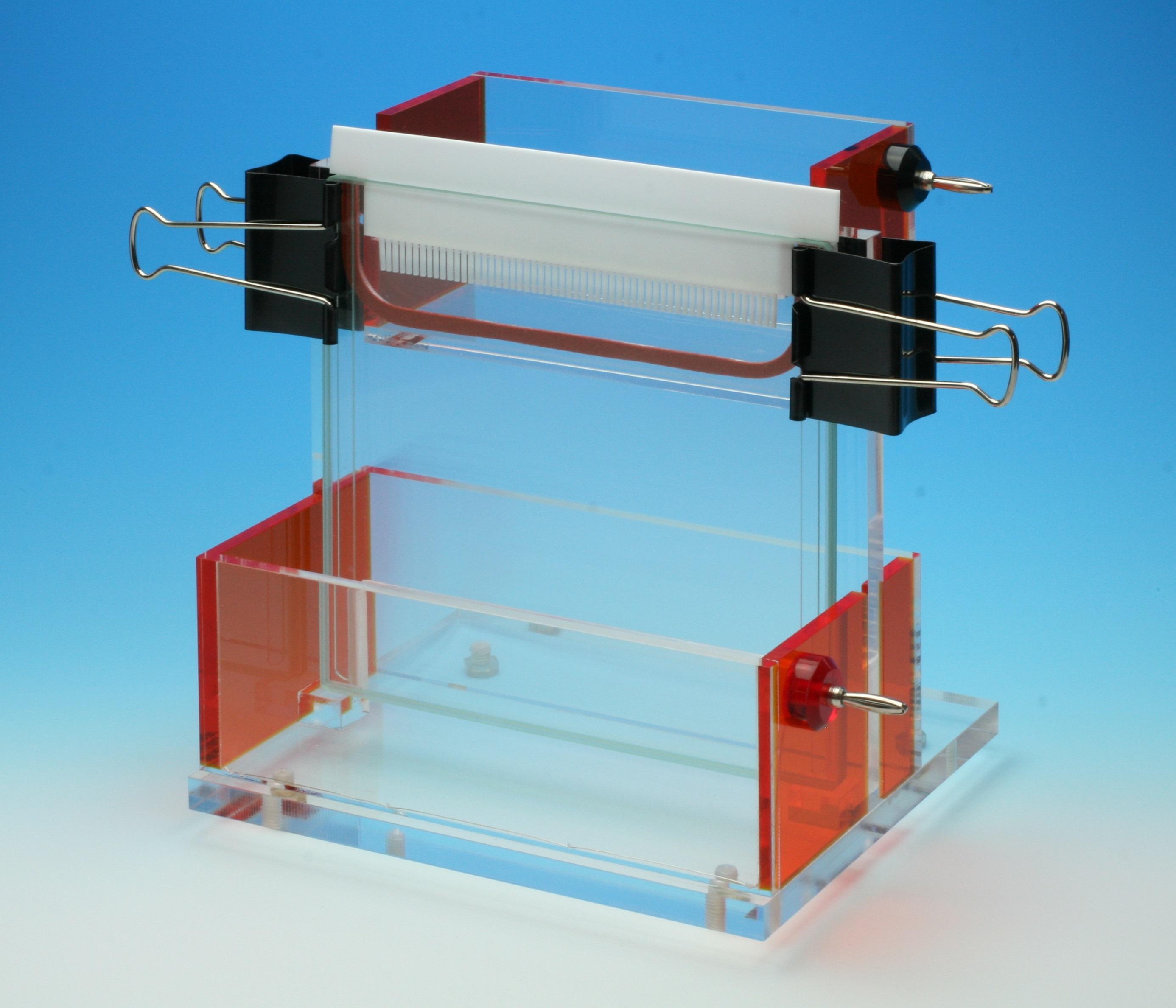 マイクロスタンダードスラブ電気泳動装置  Single-160MX